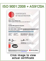 ISO 9001:2008 + AS9120A